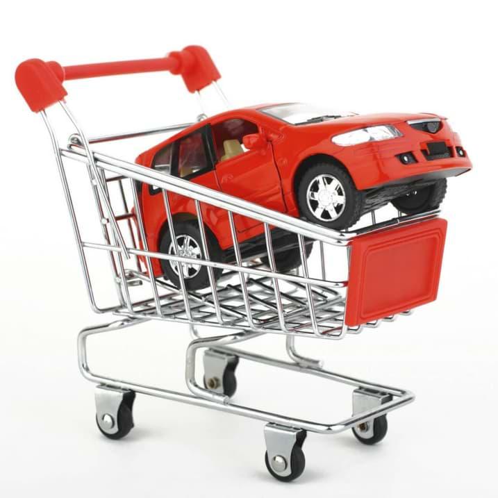 köpa bil i kundvagn