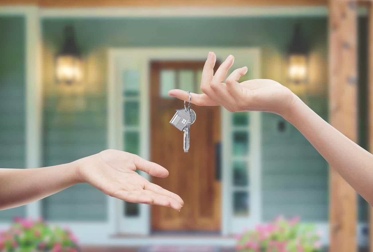 Nycklar till nyköpt hus